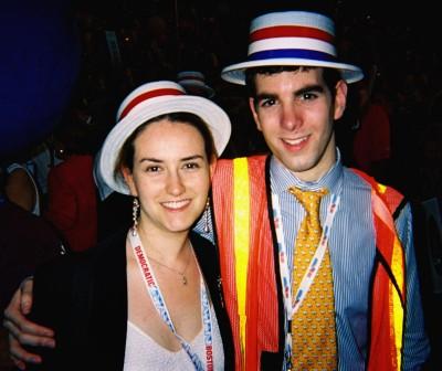 Mike Firestone & Anna Weisfeiler