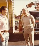 Princeton, NJ, with Armand Borel, 1980