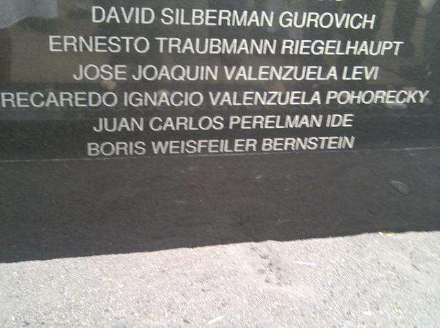 ...engraving on the Monument