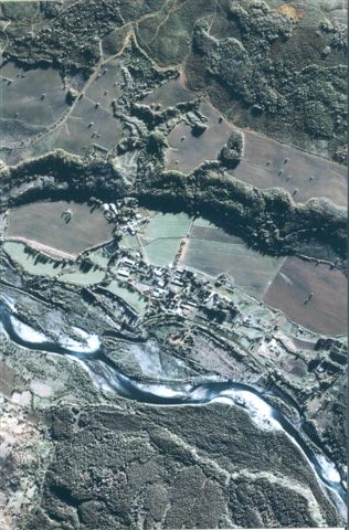 Colonia Dignidad, VIIth region, Chile (IKONOS satellite image)