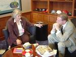 2006. Meeting with the U.S. Ambassador to Chile, Craig Kelly.
