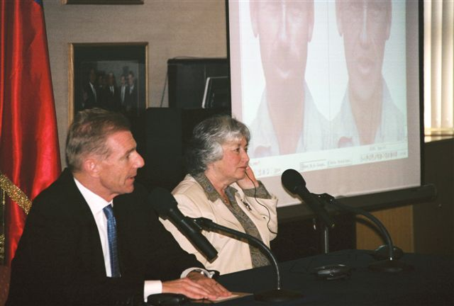 "2006. ""The U.S. Amb. to Chile, Craig Kelly, and Mrs. Olga Weisfeiler held a joint-press conference"