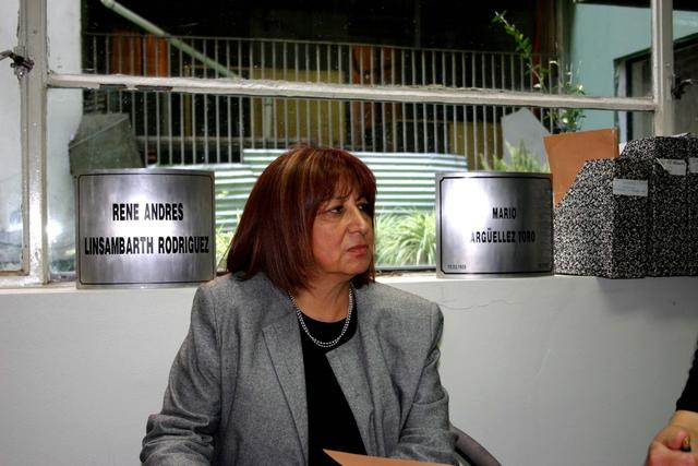 2004. Maria Raquel Mejias Silva, Executive Secretary of the Human Rights Program of the Ministry of the Interior, at the meeting