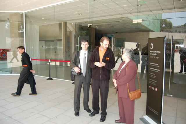 2011. Olga and Lev (L) Weisfeiler visited Museum of Memory and Human Rights (Museo De La Memoria y los Derechos Humanos.)