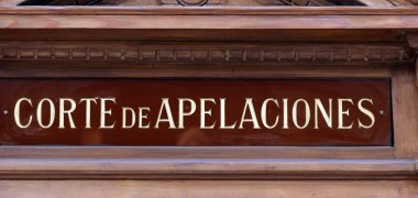 Court of Appeals (picture courtesy of La Nacion.)