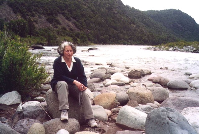 2002. Near the confluence of Los Sauces and Nuble Rivers.